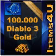 100000 Diablo 3 Gold (100K D3 Gold)