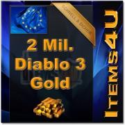 2 Mio. 2 Mil. Diablo 3 Gold (2000K D3 Gold)
