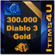 300000 Diablo 3 Gold (300K D3 Gold)