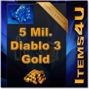 5 Mio. 5 Mil. Diablo 3 Gold (5000K D3 Gold)