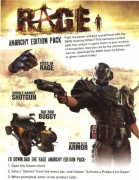 RAGE Anarchy Edition Pack DLC Steam Download Code