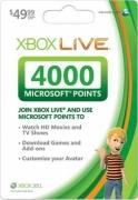 4000 Microsoft Punkte Xbox Live US