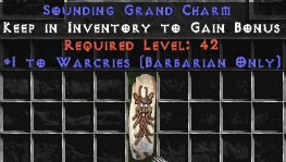 9 x Pack - Barbarian Warcries GC (plain)