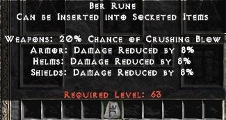 20 Ber Runes