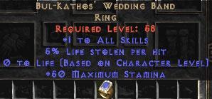 Bul-Kathos' Wedding Band 5% LL