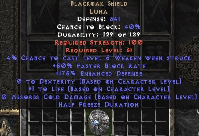 Blackoak Shield
