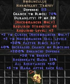 Homunculus - 200% Edef - Perfect
