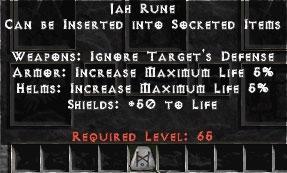 20 Jah Runes