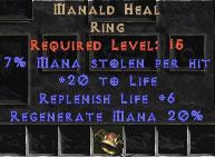 Manald Heal - 7% ML