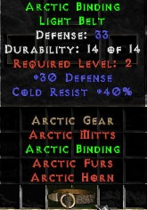 Arctic Binding