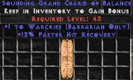 Barbarian Warcries w/ 12% FHR GC