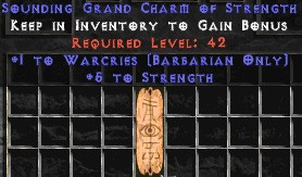 Barbarian Warcries w/ 4-5 Str GC