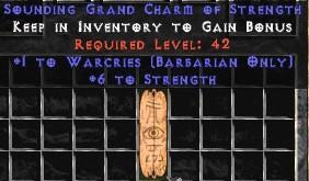 Barbarian Warcries w/ 6 Str GC