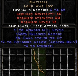 Blastbark - +130% ED - Perfect