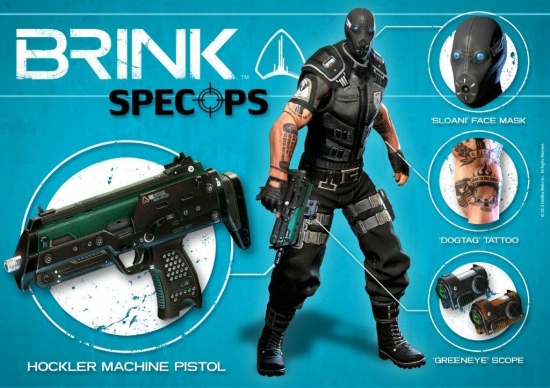Brink DLC Spec-Ops Pack Steam Download Code