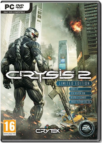 Crysis 2 Limited Edition Key (EA Origin Download)