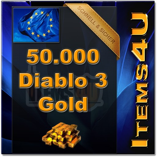 50000 Diablo 3 Gold (50K D3 Gold)