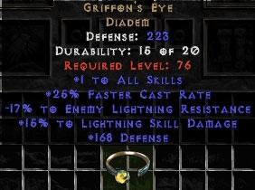 Griffon's Eye - 15-19% ELR/15% LSD