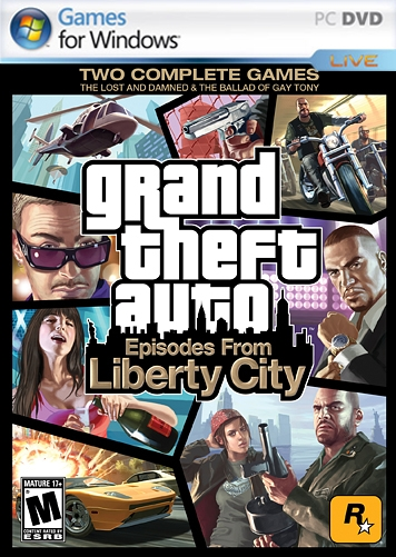 Grand Theft Auto IV Episodes from Liberty City Key (Retail Game Code)