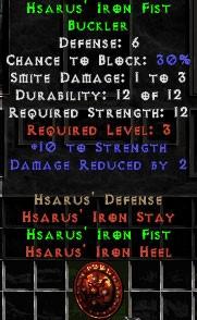 Hsarus' Iron Fist - 6 Def - Perfect