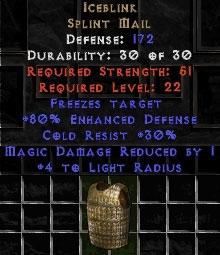 Iceblink - 172 Def, +80% ED - Perfect