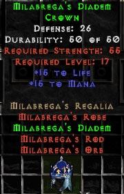 Milabrega's Diadem - 25-44 Def