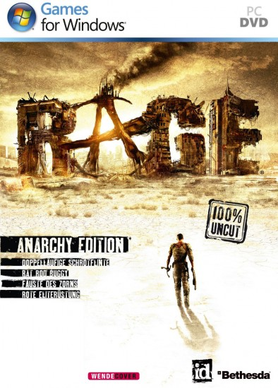 RAGE Anarchy Edition Key (Steam Download Code)