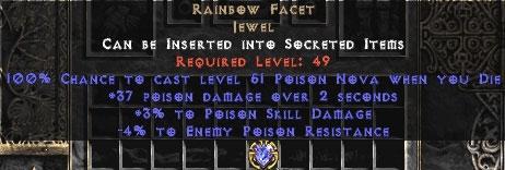 Rainbow Facet - 3/3 Psn - Death