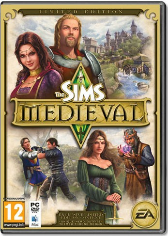 Die Sims Mittelalter Limited Edition Key (EA Origin Download)