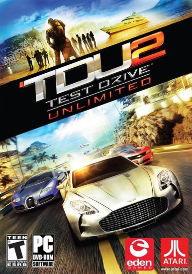 Test Drive Unlimited 2 Key (Retail Game Code)