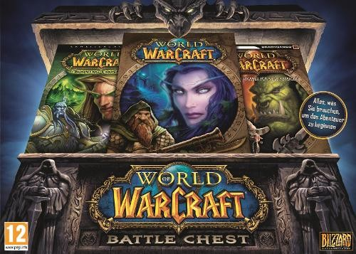 World of Warcraft Battlechest 2.0 Keys Classic+TBC (EU)