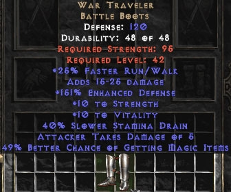 War Traveler 45-49% MF