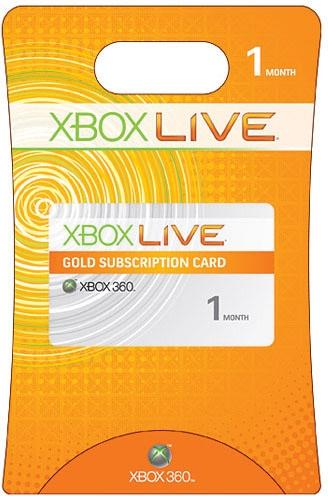 1 Monat Xbox Live Gold Mitgliedschaft (Weltweit)