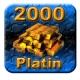 2000 Guild Wars Platin (GW Platinum)