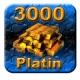 3000 Guild Wars Platin (GW Platinum)