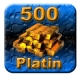 500 Guild Wars Platin (GW Platinum)