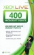 400 Microsoft Punkte Xbox Live US