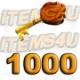 1000 Guild Wars Zaishen Schlüssel (Z-Keys)
