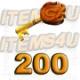 200 Guild Wars Zaishen Schlüssel (Z-Keys)